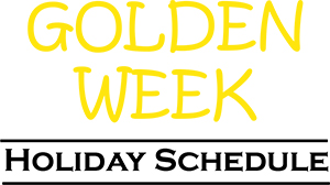Golden Week Holiday Schedule 2017 (Japan)